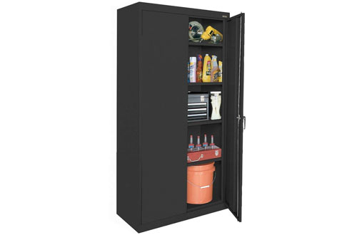 Sandusky Lee Welded Steel Classic Storage Cabinet with Lock