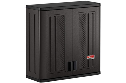 Suncast Commercial Blow Molded Wall Storage Cabinet