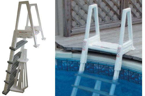 CONFER 6000B Heavy Duty Aboveground Swimming Pool Ladder