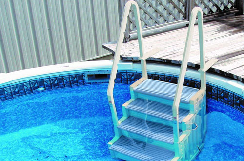 Top 10 Best Above Ground & Inground Pool Ladders Reviews In 2019