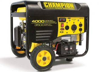 Champion 3500W RV Portable Generator with Wireless Remote Start