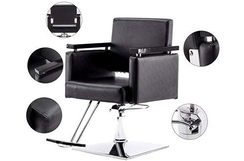 BarberPub Classic Hydraulic Barber Chair
