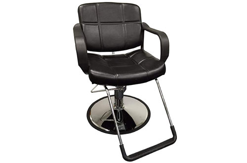 D Salon Wide Hydraulic Barber Chair Styling Salon Beauty Equipment