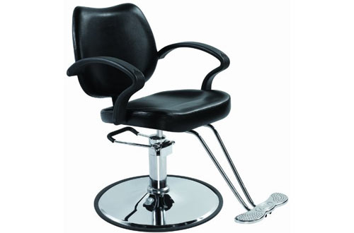Classic Hydraulic Barber Chair Styling Salon Beauty 3W
