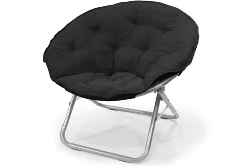 Mainstays Large Microsuede Saucer Chair with Soft