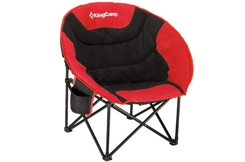KingCamp Moon Portable Camping Saucer Chair Cup Holder