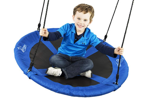 Flying Squirrel Giant Rope Swing - 40-Inch Saucer Tree Swing