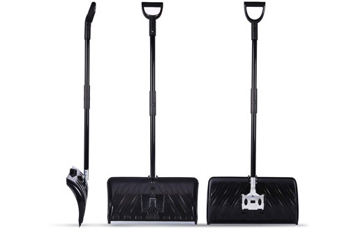 Ohuhu Metal Snow Shovel - Efficient Snow Remover