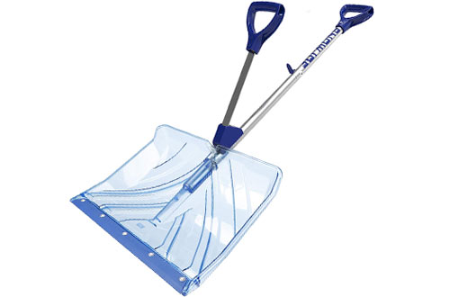 Snow Joe SJ-SHLV02 Poly Snow Shovel with Handle