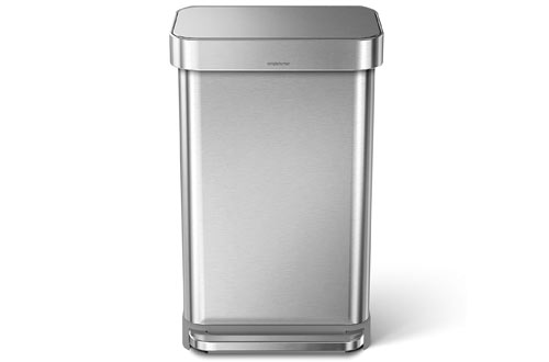 Rectangular Kitchen Step Trash Can