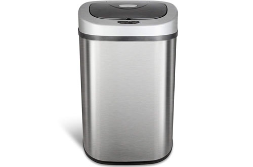 Automatic Touchless Infrared Motion Sensor Trash Can