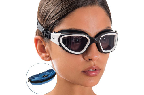 AqtivAqua Wide View Swimming Goggles for Men & Women