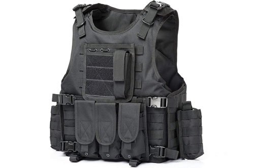 Army Shooting Hunting Outdoor Molle Police Vest