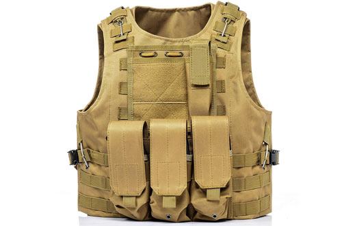 Invenko Tactical Molle Airsoft Vest