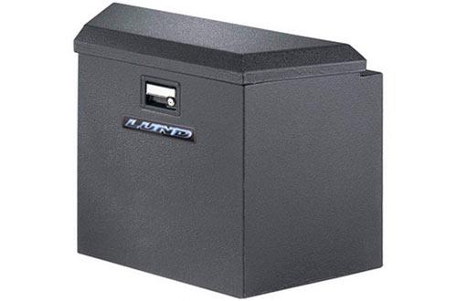 """Lund 76220 34"""" 16-Gauge Steel Trailer Tongue Box"""