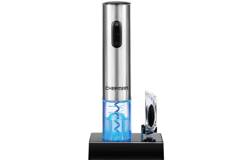 Chefman Electric Wine Opener with Foil Cutter