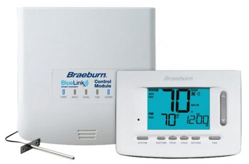 Braeburn 7500 Universal Non-Programmable Wireless Thermostat Kit
