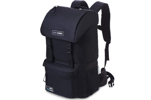 North CoyoteInsulated LargeBackpack Cooler for Picnic & Lunch
