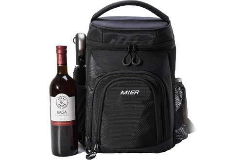 MIER Insulated Cooler Backpack for Lunch, Picnic & Hiking