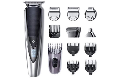 Hatteker Mens Beard Trimmer Kit Body Mustache Trimmer