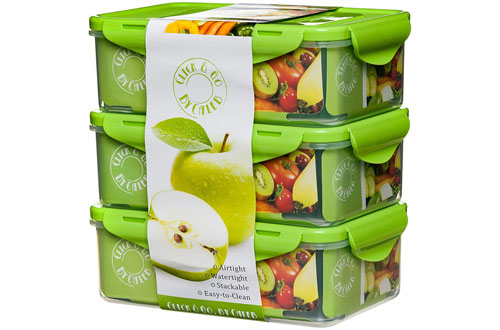 Caleb Bento Lunch Box –Food Control Container for Adults & Kids