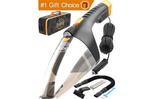 PortableMini Handheld Car Vacuum Cleaner for Men & Women