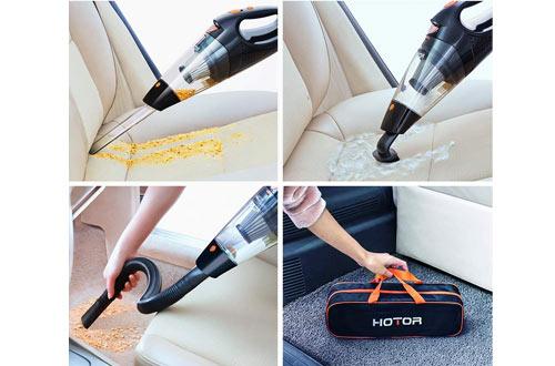 HOTORHigh PowerCorded Vacuum Cleaner for Car