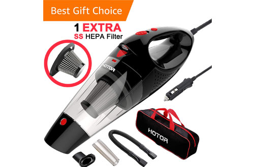HOTOR Portable Cordless Vacuum Cleaner for Car