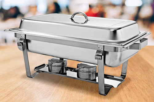 Giantex Stainless Steel Rectangular Chafing Dish with Pan
