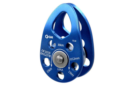 GM CLIMBING UIAA Certified 30kN Swing Cheek Micro Pulley CE General Purpose