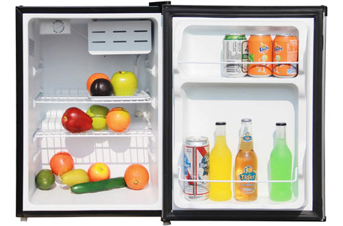Magic Chef MCBR240S1 Stainless Look Refrigerator