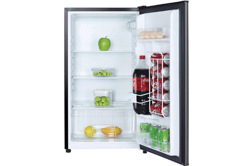 Magic Chef MCAR320B2 All Black Mini Fridge