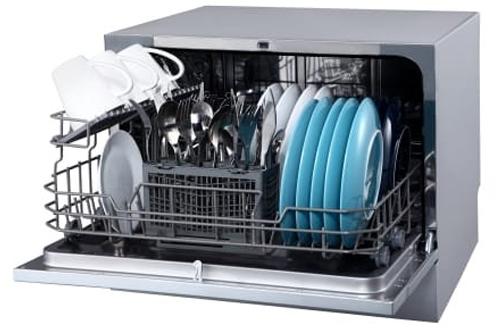 Star-Rated Portable Countertop Dishwasher – EdgeStar DWP62BL