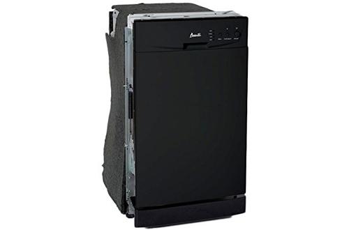 Avanti DW18D1BE 18-Inch Black Built-In Dishwasher
