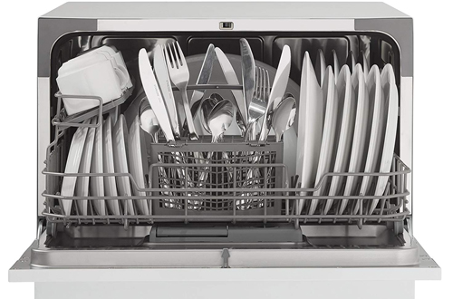 Danby DDW621WDB White Countertop Dishwasher