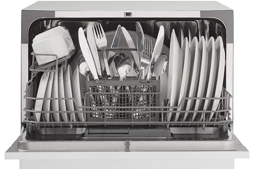 Danby DDW621WDB White Countertop Dishwasher