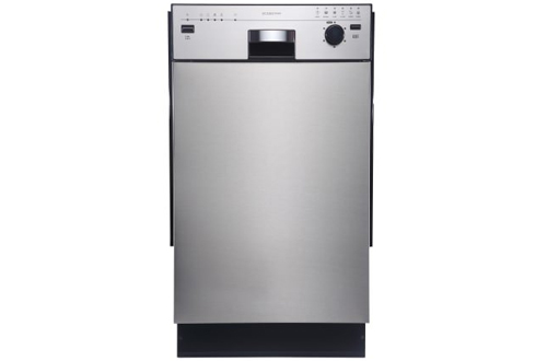 EdgeStar BIDW1801SS 18-Inch Stainless Steel Built-In Dishwasher