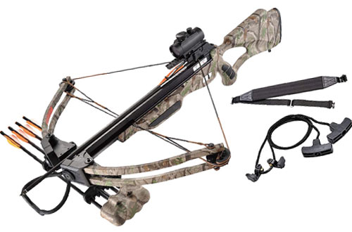 Leader 175lbs 285fps Crossbow Package - Equipment Hunting Bow