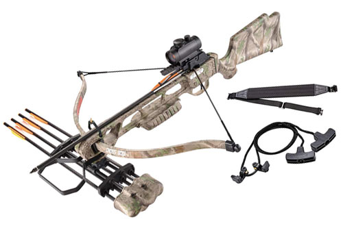 XGear 160lbs 210fps Archery Equipment Hunting Crossbow & Bow