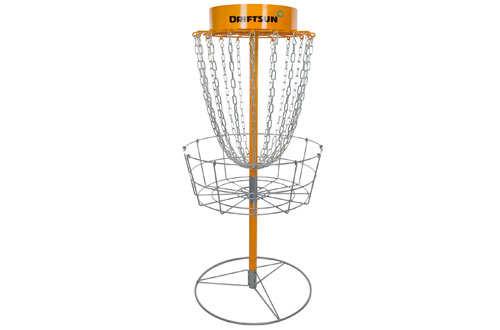 Driftsun Typhoon Portable Frisbee Disc Golf Practice Basket