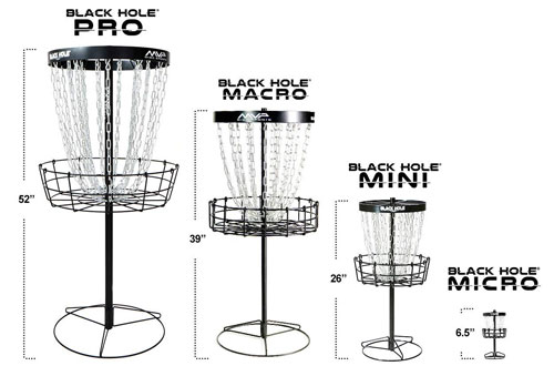 MVP Black Hole Pro Portable Disc Golf Basket Target