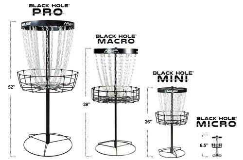 MVP Black Hole Pro Portable Disc Golf Basket Target
