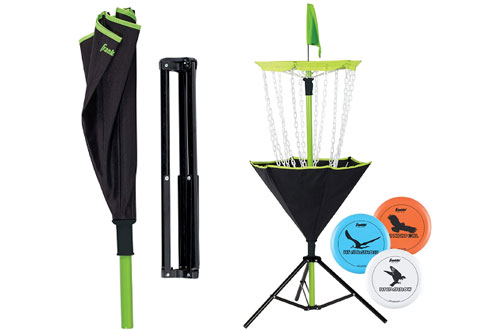 Franklin Sports 3-Disc Golf Target Set with Carrying Bag