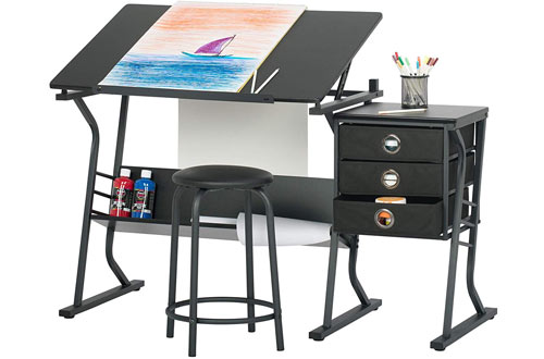 STUDIO DESIGNS Eclipse Craft Center Art Drawing Table