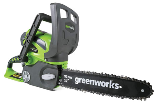 Greenworks 12-Inch Battery-Powered Chainsaw