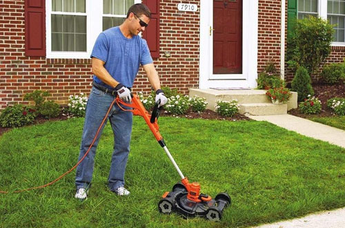 BLACK + DECKER MTE912 Electric Edger and Mower