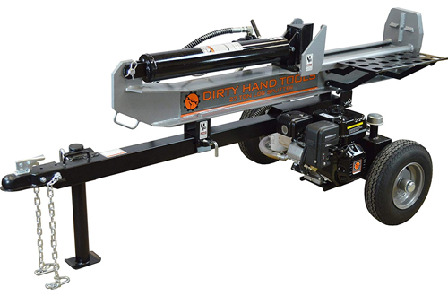 Frictionless World Dirty Hand Tools 22-Ton Gas-Powered Log Splitter