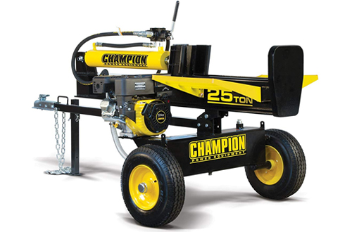 Champion 25-Ton Horizontal & Vertical Full Beam Gas Log Splitter
