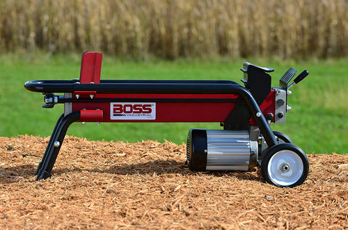 Portable 7-Ton Commercial Electric Log Splitter – Boss Industrial ES7T20