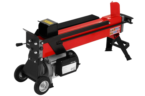 OrangeA 7-Ton Electric Log Splitter with Hydraulic Wood Splitter